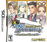 Phoenix Wright: Ace Attorney: Justice For All (Nintendo DS)
